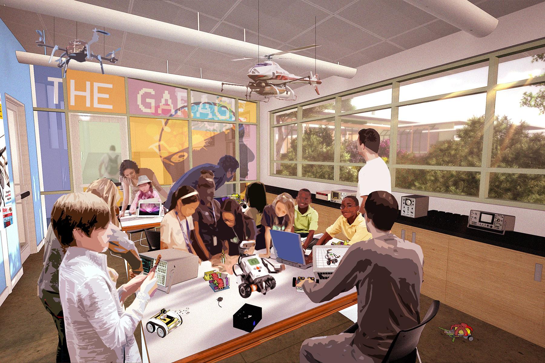 The Garage/STEAM Labs